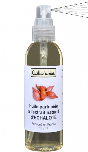 HUILE AROMATISEE à l'EXTRAIT NATUREL d' ECHALOTE