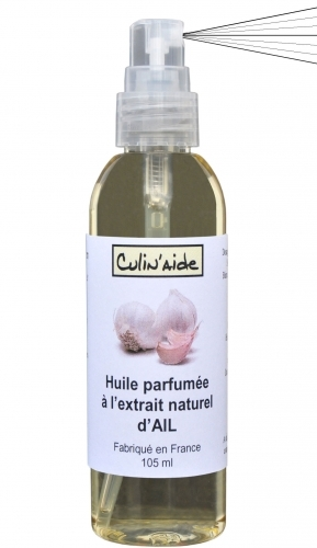 AROMATIZED OIL with NATURAL Garlic EXTRACT