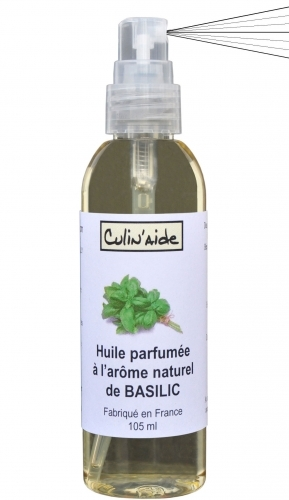 AROMATIZED OIL with BASILIC NATURAL AROME