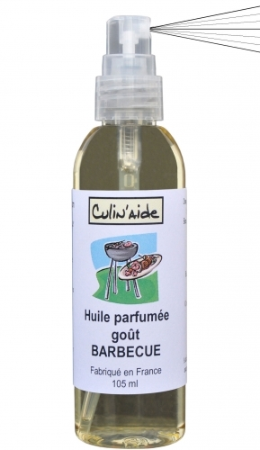 HUILE AROMATISEE goût BARBECUE