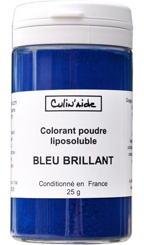 BLEU BRILLANT