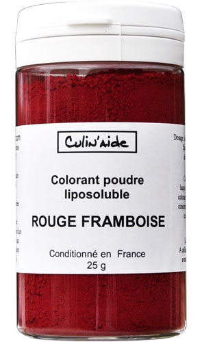 rouge framboise - Colorant Liposoluble