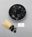 Boutons noirs luxe