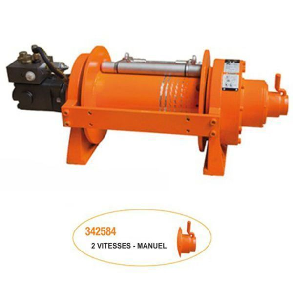 Treuil Hydraulique 9091 kg