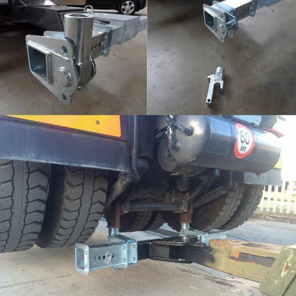 Z-Support pour fourche à chassis