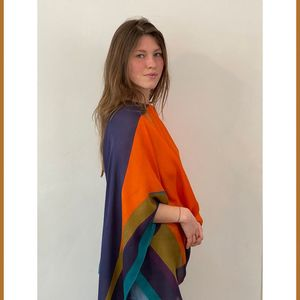 GRAND PONCHO MARGOT