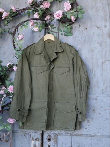 veste militaire france, vetement authentique vintage ref  35