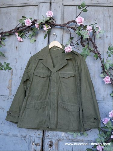 veste militaire france, vetement authentique vintage ref  1