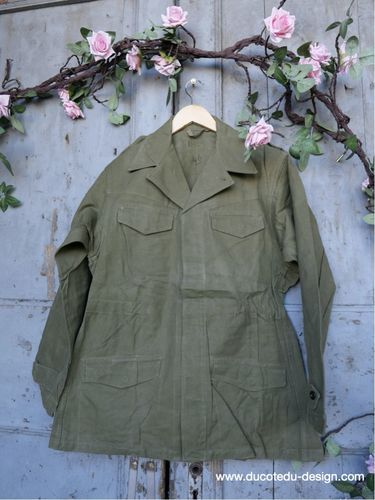 veste militaire france, vetement authentique vintage ref  2