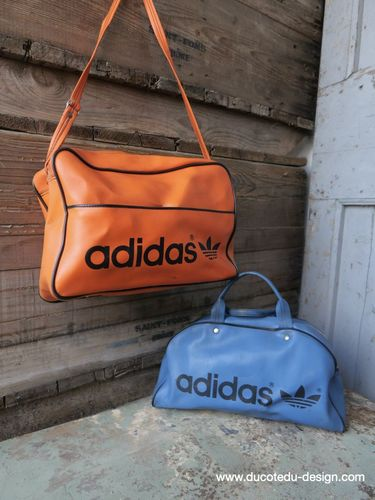lot de 2 sacs Adidas vintage made in france