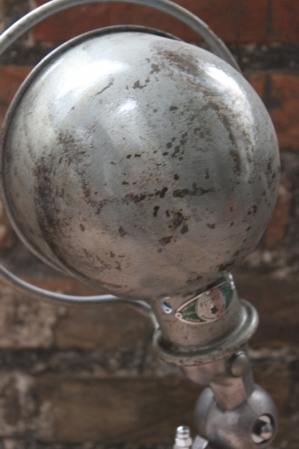 Unique lampe Jielde 1 applique finition vintage grise industrielle 2