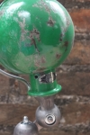 Unique lampe Jielde 1 applique finition vintage verte industrielle 7