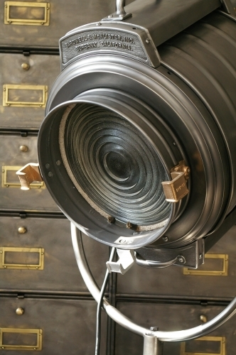 Rare gros projecteur cinema MCALISTER des studios Hollywood Californie  30/40