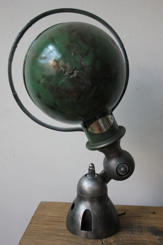 Unique lampe Jielde 1 applique finition vintage industrielle 1