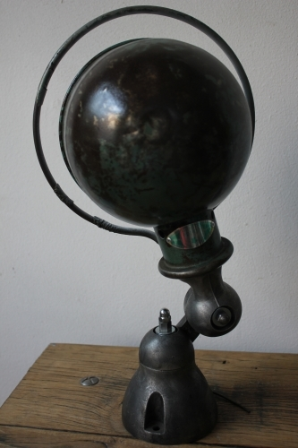 Unique lampe Jielde 1 applique finition vintage industrielle 5