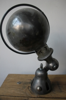 Unique lampe Jielde 1 applique finition vintage industrielle 6