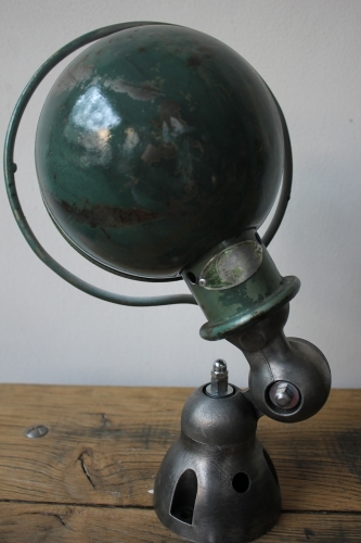 Unique lampe Jielde 1 applique finition vintage industrielle 7