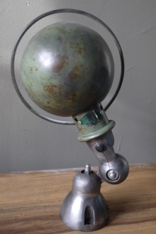 Unique lampe Jielde 1 applique finition vintage industrielle 4