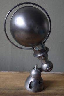 Unique lampe Jielde 1 applique polie graphite