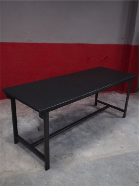 Table militaire metal industrielle