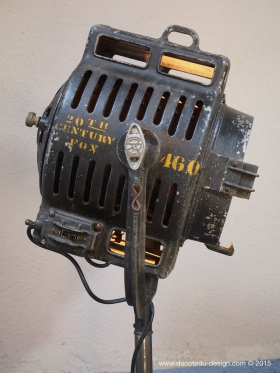 Ancien rare projecteur cinema hollywood Richardson 1930/40 dans son jus