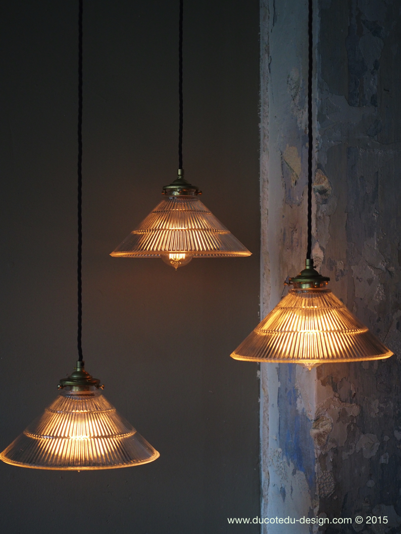 Abat Holophane Industrielle Lampe Atelier Jour WbYIeEDH29