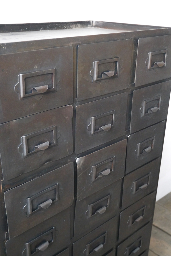 meuble metal industriel. Black Bedroom Furniture Sets. Home Design Ideas