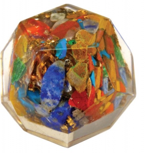 Mini Dodécaèdre Orgonite