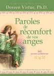 PAROLES DE RÉCONFORT DE VOS ANGES