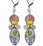 "Boucles d'oreilles Ayala Bar - Collection ""Radiance""  - couleurs pastels doux"