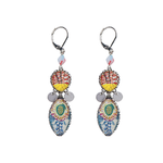 "Boucles d'oreilles/clips Ayala Bar - Collection ""Radiance""  - couleurs pastels doux"