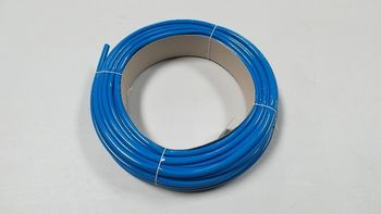 Gaine PVC de 8 mm bleu
