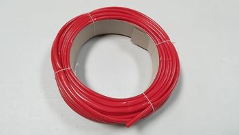 Gaine PVC de 8 mm rouge