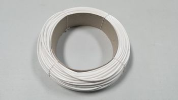 Gaine PVC de 4 mm blanche