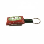 Georges & Rosalie key ring printed fabric PCG03-5