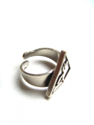 Bague argent Routarde Carry Simone