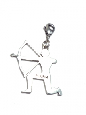Pilgrim charm the archer in silver