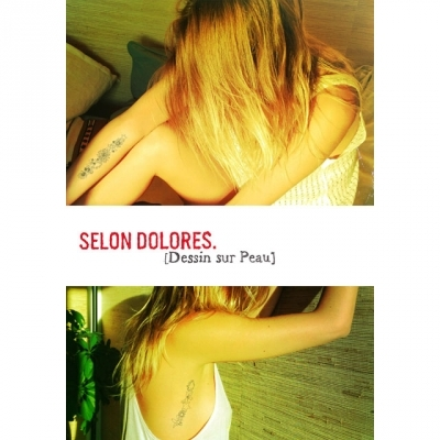 Selon Dolores pack of tatoos