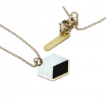 Judith Benita necklace Volt noir