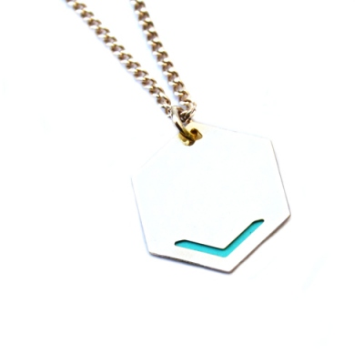 Judith Benita necklace Volt azur