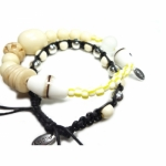 Pilgrim Indian Bracelet Blessings white