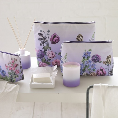 Designers Guild Washbag alexandria Lilac medium