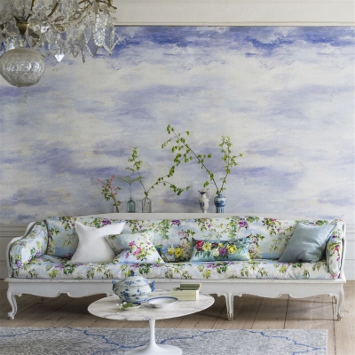Designers Guild Cielo Sky wallpaper