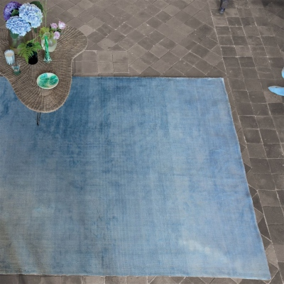 Designers Guild tapis Phipps Sky large