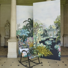Christian Lacroix Wallpaper Bagatelle Reglisse