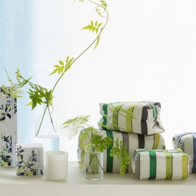 Designers Guild Trousse de toilette Ventaglio Lime medium