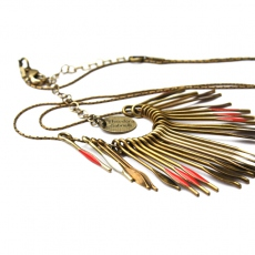 Theodora Gabrielli necklace Phenix L piment