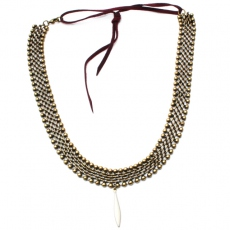 Theodora Gabrielli necklace Tallulah ivoire