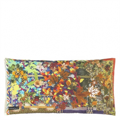 Christian Lacroix cushion One year in my Garden Multicolore