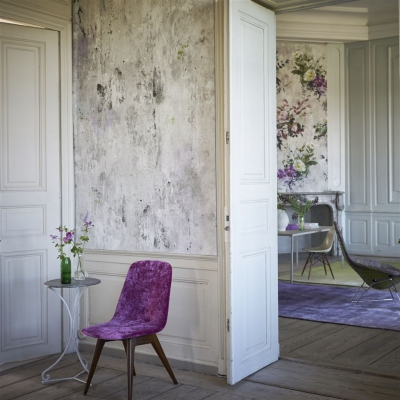Designers Guild Corneille Amethyst wallpaper